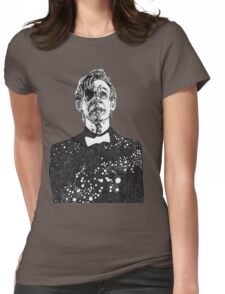 The Cosmic Doctor - Eleven  Womens Fitted T-Shirt