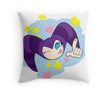Cutie NiGHTS Throw Pillow