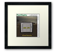Cartoon :  iCloud Security Framed Print