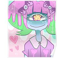 Pastel Goth Cyclops Mia Poster