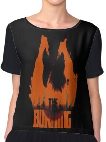 The Burning Chiffon Top