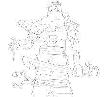 The Warrior by Dodgin