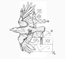 rough raven  by HiddenStash