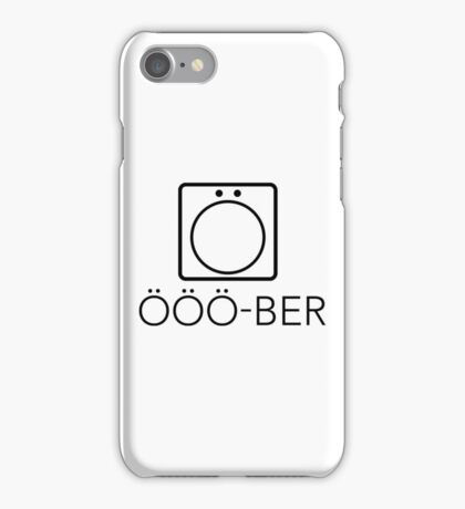 Gilmore Girls - Ooo-ber iPhone Case/Skin