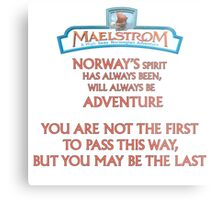 Maelstrom from Epcot Norway Metal Print