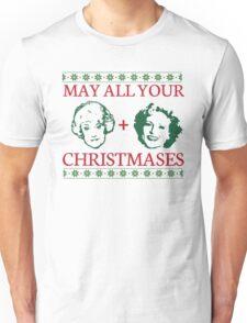 Golden Christmas Unisex T-Shirt