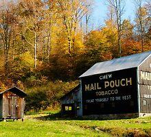 Chew Mail Pouch by Jeanne Sheridan