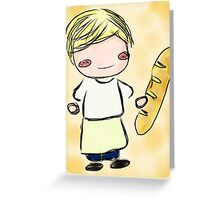 Peeta Mellark Chibi Greeting Card