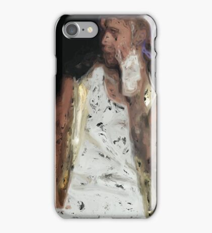 Painted Justin Bieber iPhone Case/Skin