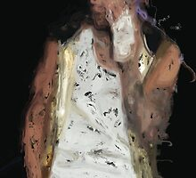 Painted Justin Bieber by kstoy