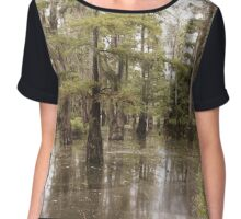 The Beauty Of The Swamp Chiffon Top