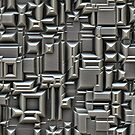 Brushed Metal 3D Pattern by Phil Perkins