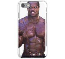 Muscular Black Man iPhone Case/Skin