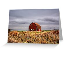 Clouds over Royal Barn Greeting Card
