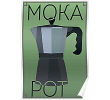 Art Deco Moka Pot Poster Poster