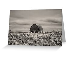 Clouds over Royal Barn BNW Greeting Card
