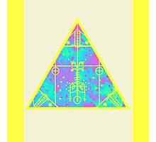 cool electric triangular space Photographic Print