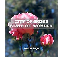 City of Roses v.3 Photographic Print