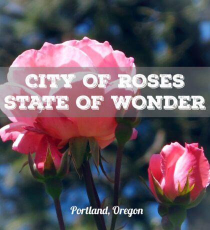City of Roses v.3 Sticker