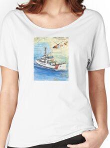USCG Storis Nautical Chart Map Cathy Peek Women's Relaxed Fit T-Shirt