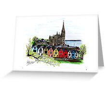 Ireland Pen and Ink Drawing  Greeting Card