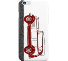Red Car Vintage iPhone Case/Skin