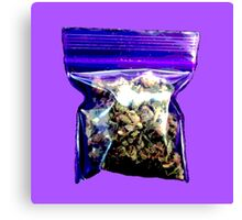 Purple Kush Canvas Print