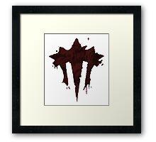 The Iron Horde Framed Print