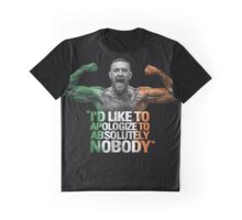 McGregor - I'd Like To Apologize To Absolutely Nobody Graphic T-Shirt