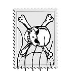 Skull stamp #2 by Nhan Ngo