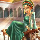 Shajar al-Durr - Rejected Princesses by jasonporath