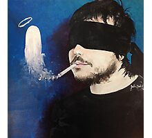 Death Spells Frank Iero Photographic Print