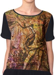 Alchemical Fire - In The Belly Of The Wind Chiffon Top