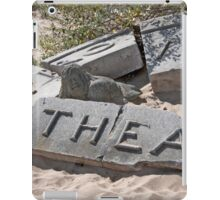 Theater In The Sand iPad Case/Skin
