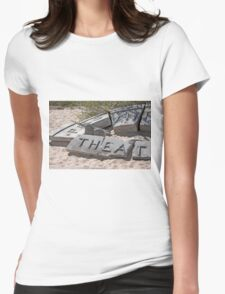 Theater In The Sand Womens Fitted T-Shirt