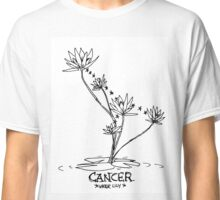 Floral Constellations - Cancer Classic T-Shirt