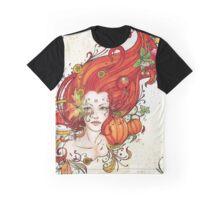 L'Esprit d'Automne Graphic T-Shirt