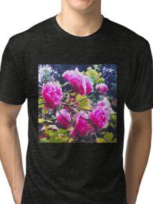 Montsalvat Roses Tri-blend T-Shirt