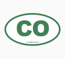 Colorado CO Euro Oval GREEN by USAswagg