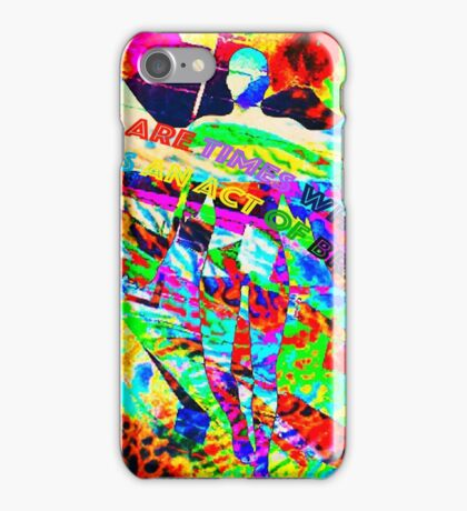 Bravery by Art and Soul Mamma iPhone Case/Skin