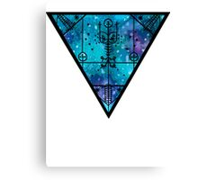 inverted space triangle Canvas Print