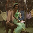 Nzinga Mbande - Rejected Princesses by jasonporath