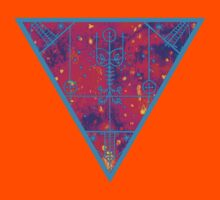 inverted warm neon triangle by HiddenStash
