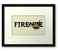 Buona Sera Firenze! Framed Print