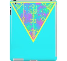 inverted cold neon triangle iPad Case/Skin