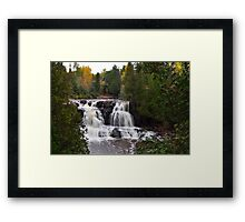 Gooseberry Upper Falls Framed Print