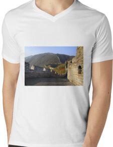 The Great Wall of China Mens V-Neck T-Shirt