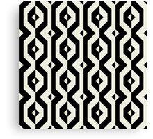 Modern bold print with diamond shapes Canvas Print