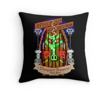Dragon Breath - Fiery Brew Throw Pillow
