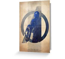 Avengers Assembled: The Soldier Greeting Card